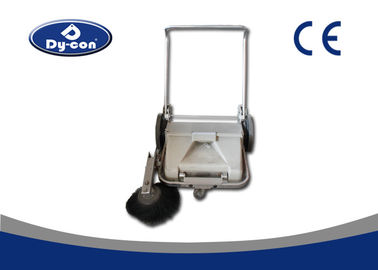 Commercial Manual Push Floor Sweeper Machines Semi Automatic Compact Design