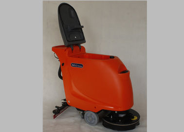 চীন Orange Anti Impact Industrial Floor Cleaning Machines With 18-20 Inch Brush কারখানা